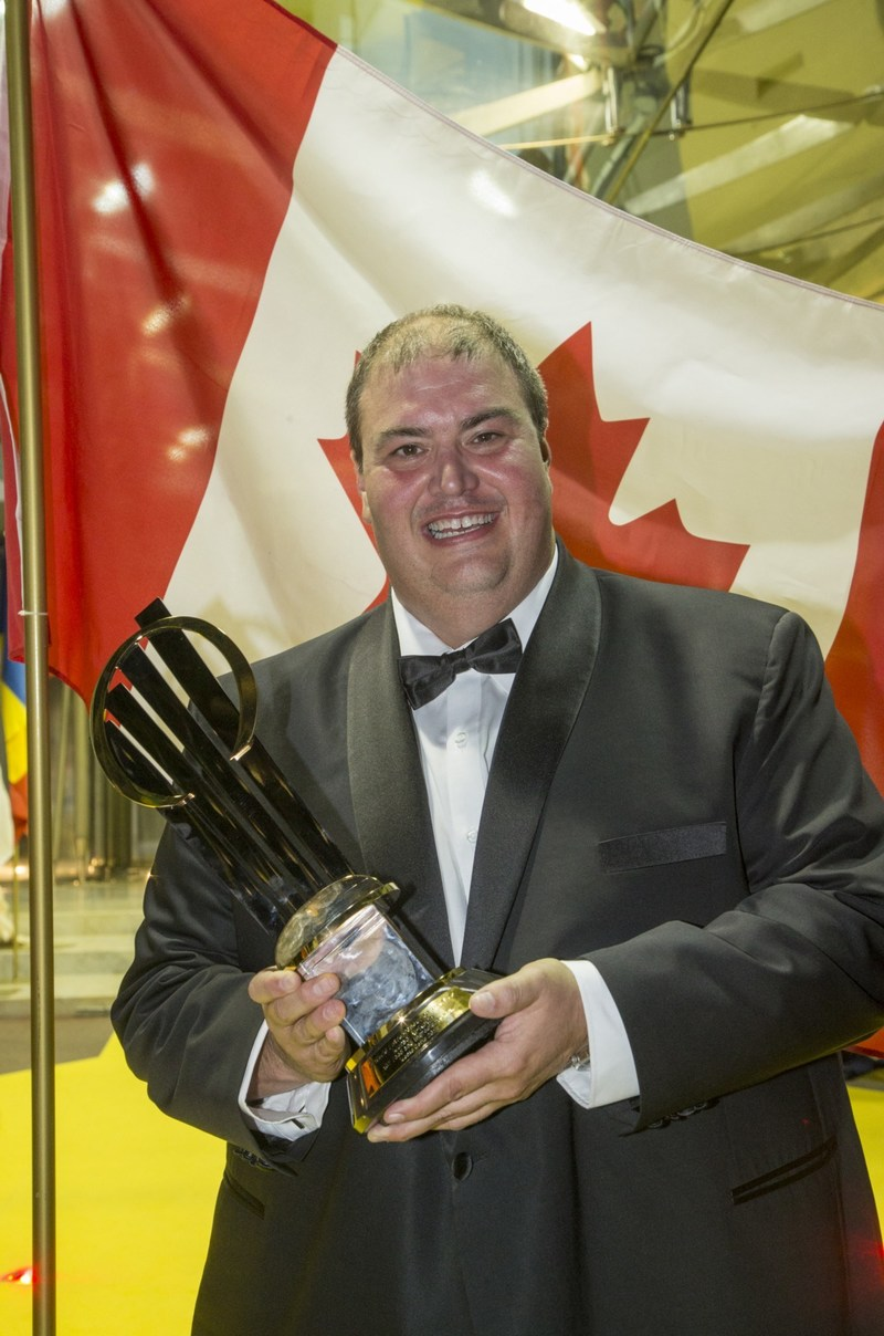 Canadian Murad Al-Katib of AGT Food and Ingredients Inc. is this year's EY World Entrepreneur Of The Year (CNW Group/EY (Ernst & Young))