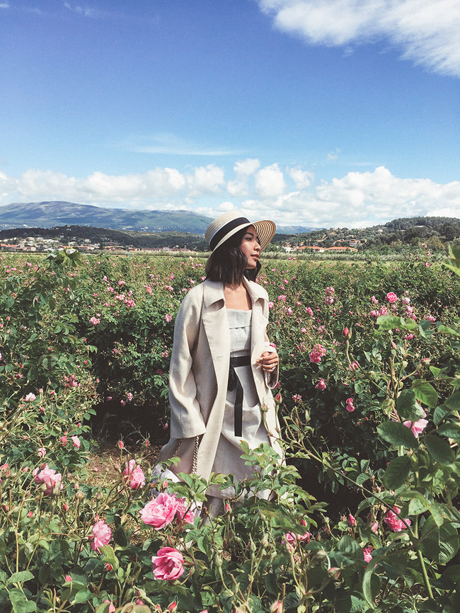 Chanel brought Stephanie Liu of Honey & Silk to Grasse, FR to experience and share the making of their iconic No. 5 fragrance.