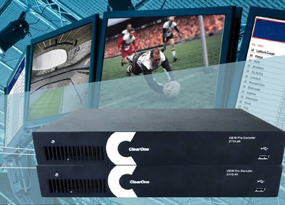 The new VIEW Pro E110 4K Encoder and D110 4K Decoder IP-based multimedia streaming products not only deliver a level of performance that is unmatched in the industry, but they offer infinite scalability at a price point far below what others charge for a very rudimentary solution.