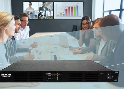 The new CONVERGE PA power amps complement all ClearOne DSP mixer products; providing quick and easy customization without the usual software and are ideally suited for both sound reinforcement applications and conferencing possibilities.