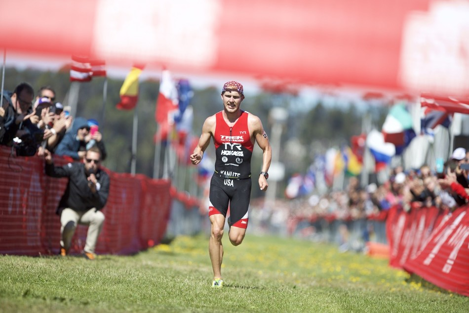 On Sunday, June 11, nearly 2,000 amateur and professional athletes endured high winds and a modified course due to the cancellation of the swim, to compete in the 37th Annual Escape from Alcatraz™ Triathlon. Rio Olympian Ben Kanute and Lauren Goss from Boulder, Colorado took first place honors in the men and women's pro division.
