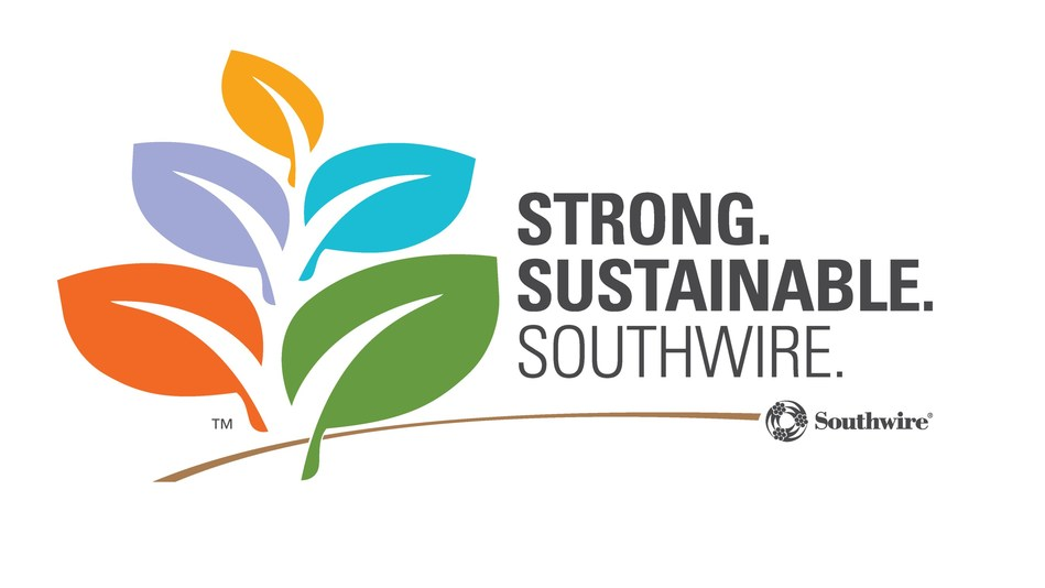 Southwire's 2016 sustainability report not only provides updates on the company's 13 identified material topics, but also launches a revitalized brand and an updated set of goals for 2021.