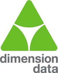 Dimension Data logo.