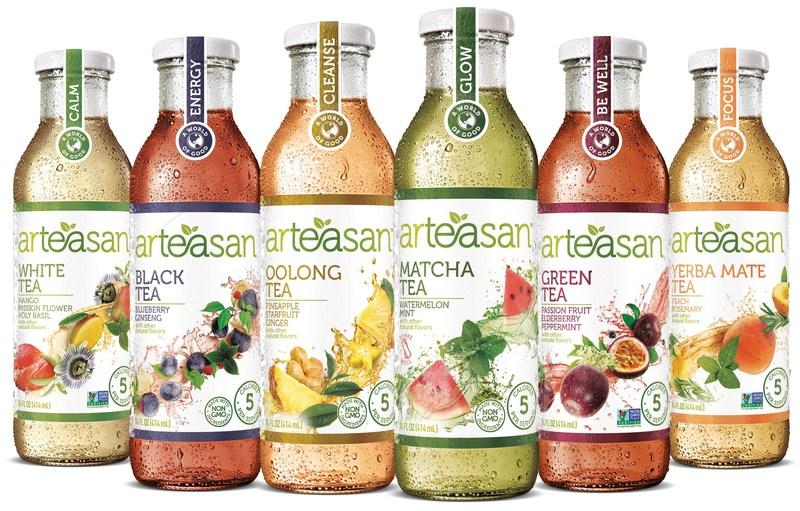 Arteasan expands portfolio to six deliciously unexpected flavors.