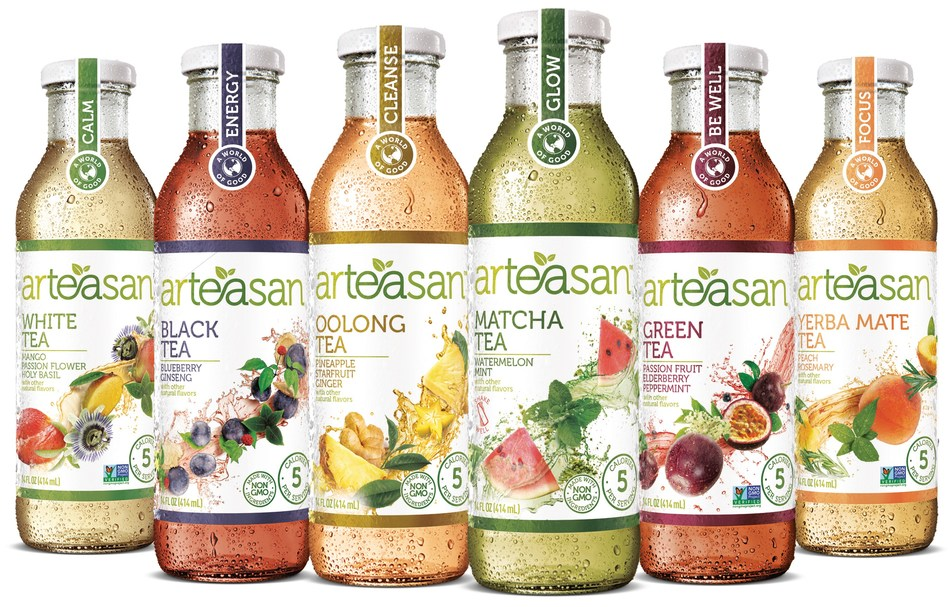 Arteasan expands portfolio to six deliciously unexpected flavors.