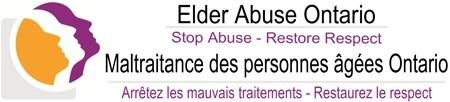 Elder Abuse Ontario (CNW Group/The Retired Teachers of Ontario)