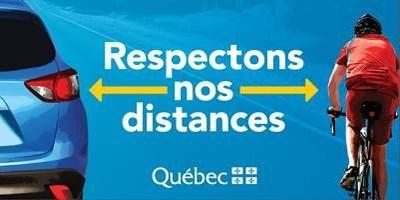 Vigilance sur les routes des Laurentides (Groupe CNW/Cabinet du ministre des Transports, de la Mobilité durable et de l'Électrification des transports)
