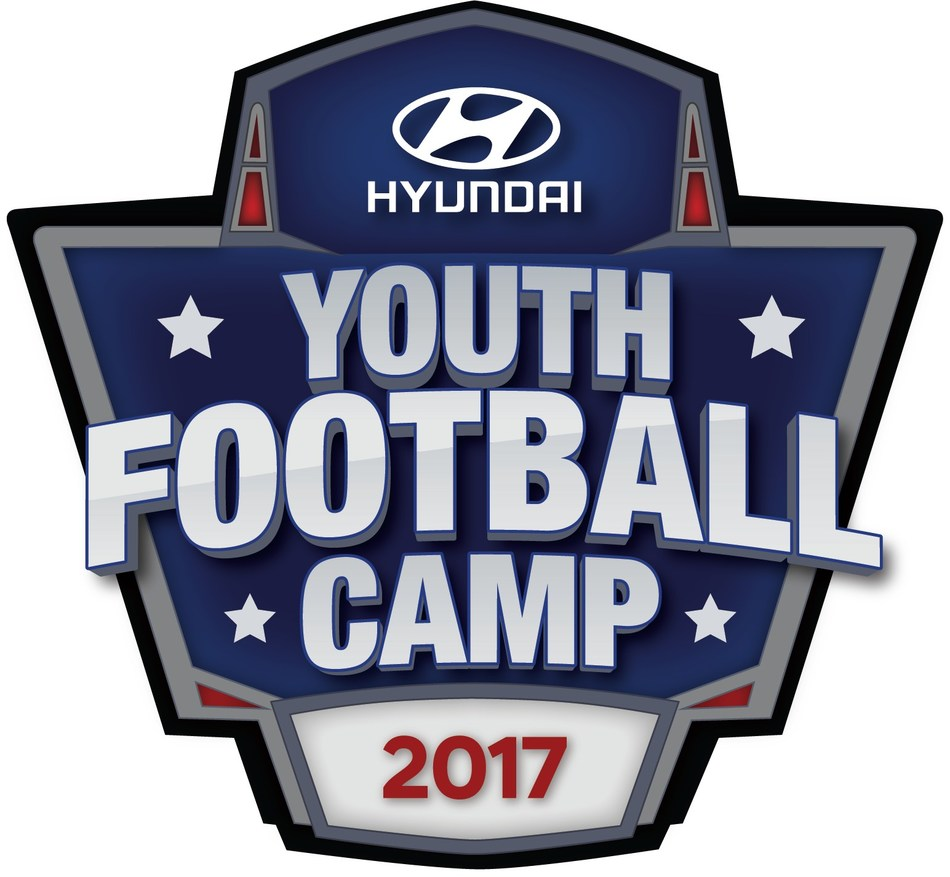 Young NFL Fans Can Prepare For The Upcoming Season At Hyundai's Summer Youth Camp Program