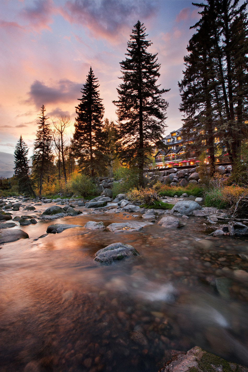 Laurus Corp., luxury condo development planned in Vail, Co., adjacent to the Gore Creek and Hotel Talisa
