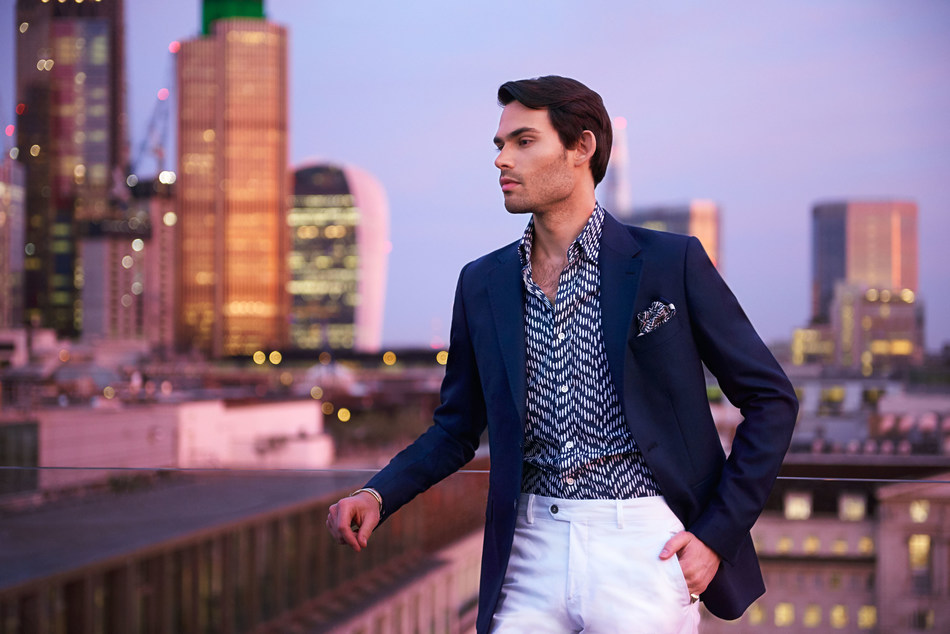 Mark Francis for Hawes & Curtis special collection (PRNewsfoto/Hawes & Curtis)