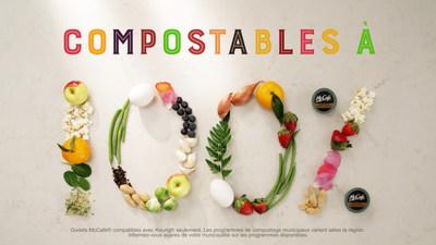 McCafé® lance sa campagne de godets 100 % compostables (Groupe CNW/McDonald's Canada)