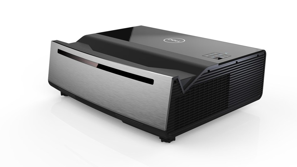Dell Advanced 4K Laser Projector (S718QL): Dell's Advanced 4K Laser Projector is designed for board rooms, classrooms, and anywhere users need to project vibrant images that are visible even in the daytime. With true 4K Ultra HD resolution, HDR compatibility and 8.3M pixels of color, the S718QL projects a 100-inch image from only 4 inches away from the wall. Low-maintenance laser technology and up to 10 years of life based on an eight hour workday.