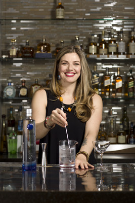 Diageo Reserve appoints the industry's first Global Cocktailian, award-winning Canadian mixologist, educator and industry advocate, Lauren Mote. (PRNewsfoto/Diageo Reserve)