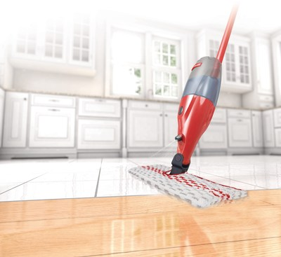 Keeping floors clean is the most-challenging cleaning issue for 36% of Canadians. (CNW Group/Vileda Canada)