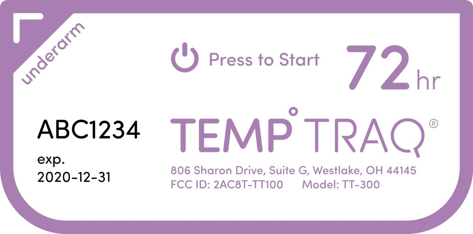 Clinical Study Shows TempTraq® Wearable, Bluetooth® Continuous Temperature Monitor Detects Fevers Quicker than the Current Standard-of-Care Method in Hospitals.