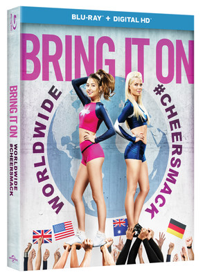 From Universal Pictures Home Entertainment: Bring It On: Worldwide #Cheersmack