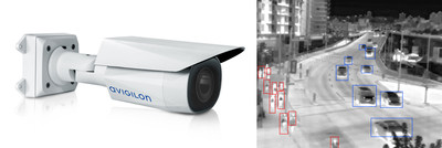 Figure 1. The H4 Thermal camera line combines self-learning video analytics and thermal imaging for accurate detection in a wide range of environments. (CNW Group/Avigilon Corporation)