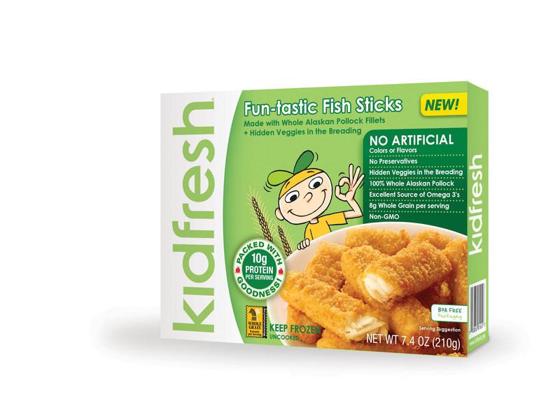 Kidfresh's Fun-Tastic Fish Sticks