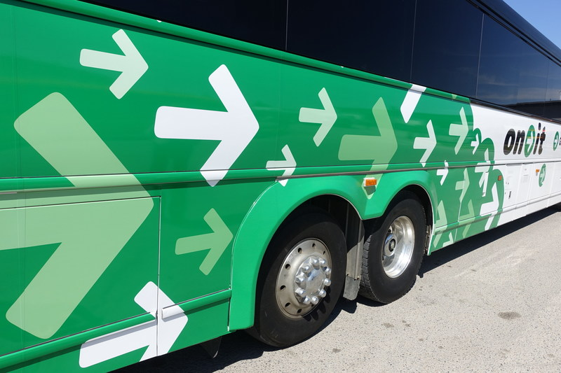 Day tripping to Banff just got real easy with On-It regional transit (CNW Group/Calgary Regional Partnership)