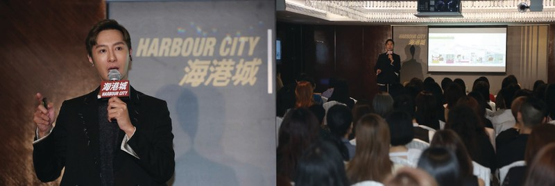 Perry held a sharing seminar with hundreds of representatives from the media, beauty brands and fashion brands.