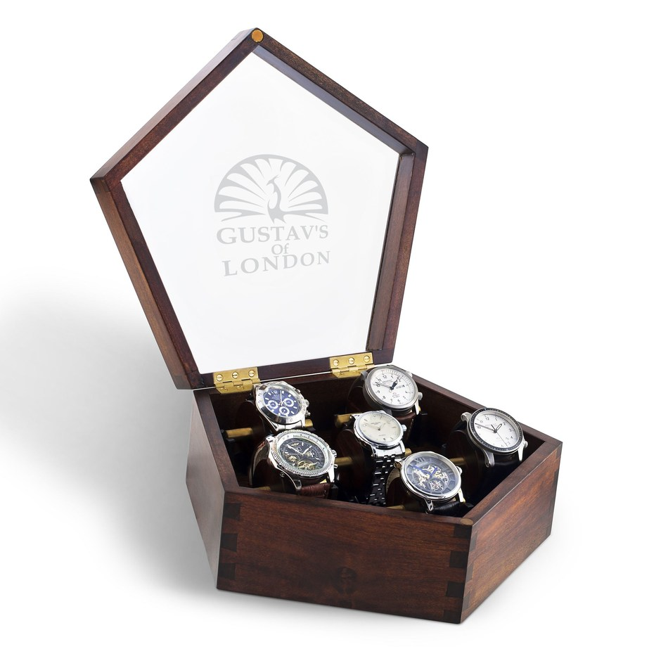 Gustav's of London Bespoke Watch Box (PRNewsfoto/Gustav's of London)