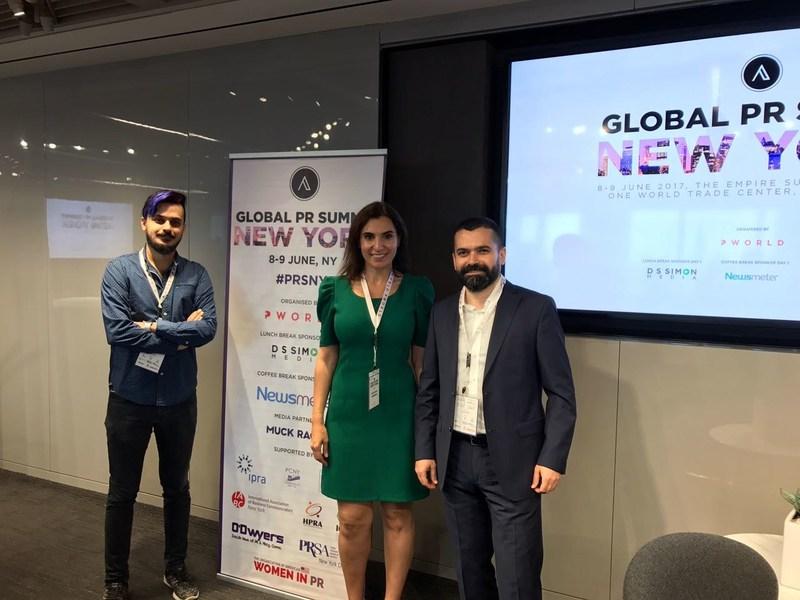 Newsmeter team from left to right: Seyithan Teymur - Head of Design, Deniz Aydoslu - Head of Business Development, Dr. Ekrem Teymur - CEO