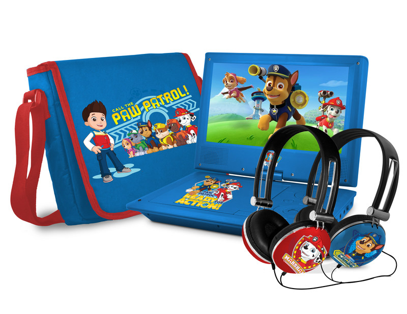 PAW Patrol Portable DVD Player, Headset and Carry Case