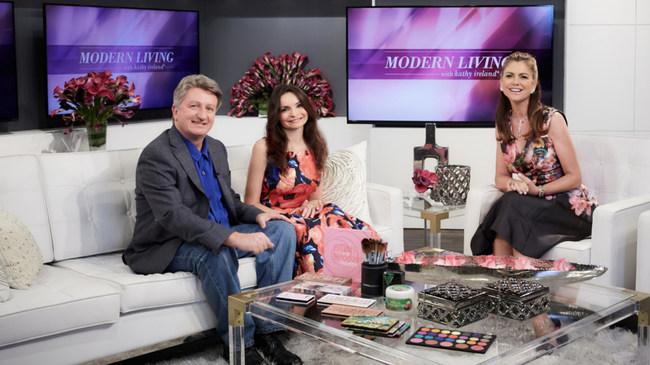 Dorothy and Reto Kramer with Kathy Ireland
