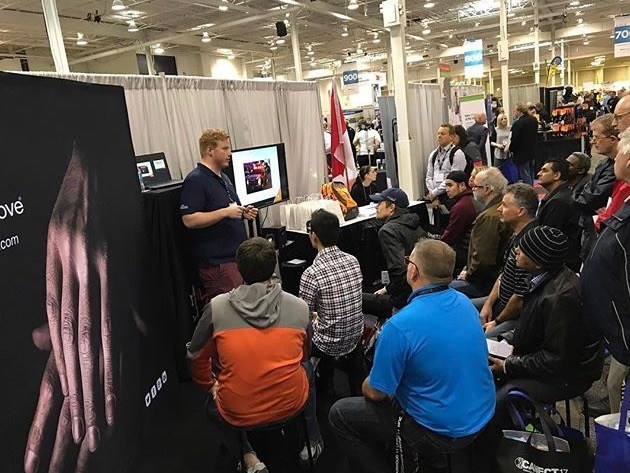 Canadian glove maker to draw huge crowds at the largest US safety show. (CNW Group/Superior Glove)