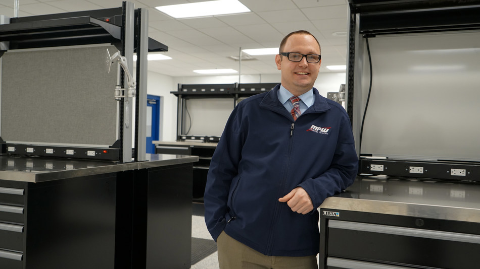 Justin Pierce, Director of Engineering and Manufacturing, MPW Industrial Services