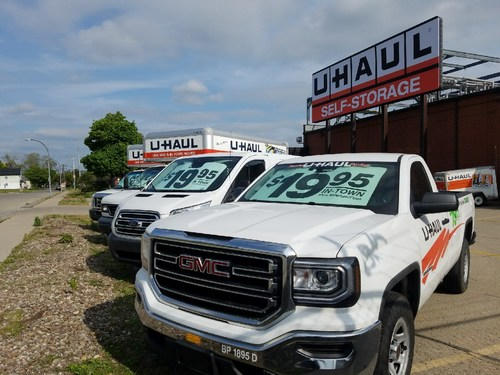 U-Haul corporate sustainability initiatives are being applied through the adaptive reuse of the former Tyson® refrigerated cold storage and meat processing plant at 665 Perry St. in Buffalo.