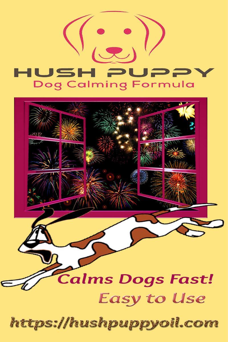 More dogs go missing on the 4th of July than any other day of the year. Ease your dog's anxiety this year with aromatherapy from Hush Puppy Dog Calming Formula.