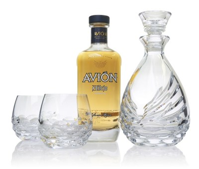 Waterford Avión Collection Crystal Sipping Decanter Gift Set