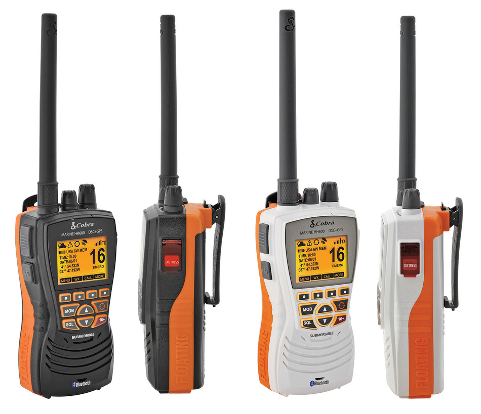 Cobra Electronics Launches its First Handheld VHF Radio with GPS and Digital Selective Calling (DSC)