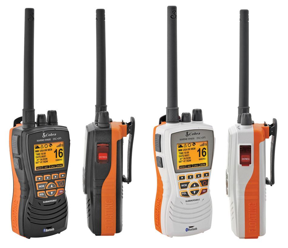 Cobra VHF Radio with GPS and Digital Selective Calling