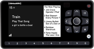 SiriusXM Introduces Newest Dock and Play Radio  the Onyx EZR