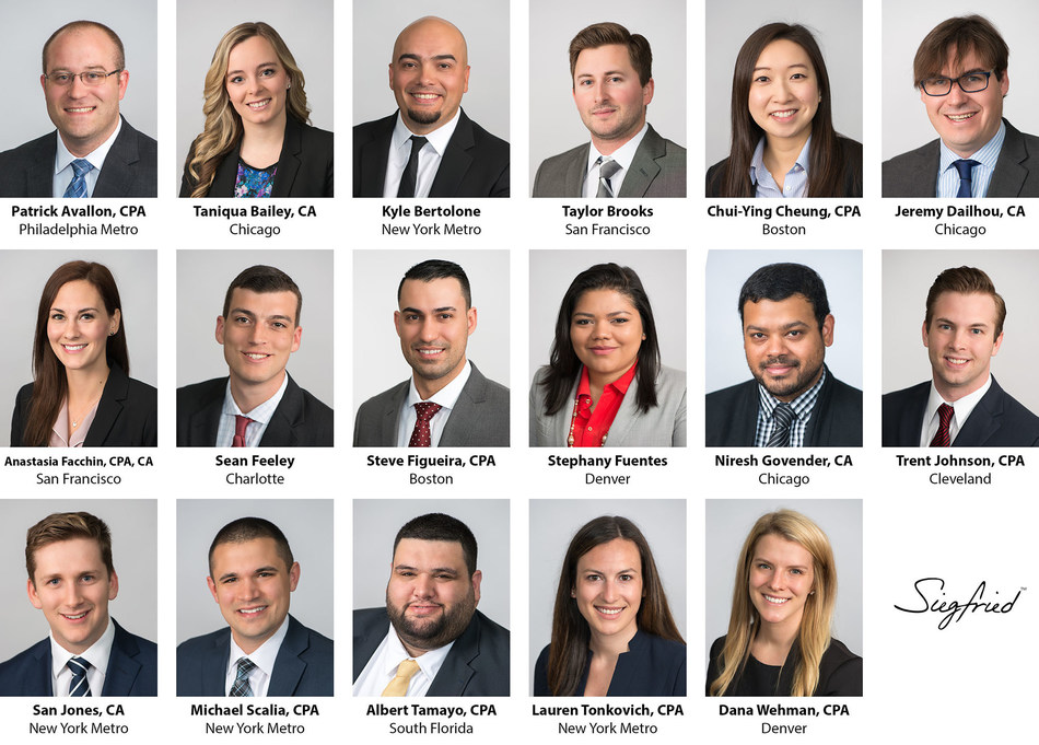 Siegfried Welcomes New Professionals From Across the Country; Employees Travel to Chicago for Orientation