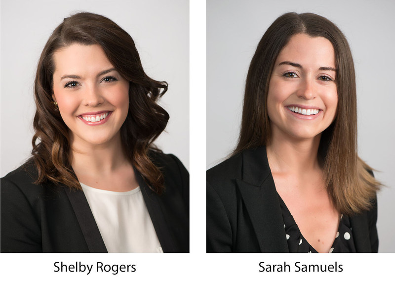 Siegfried Welcomes Two New Members to National Market Leadership Team. As Firm continues to grow, Shelby Rogers and Sarah Samuels accept positions in Leadership