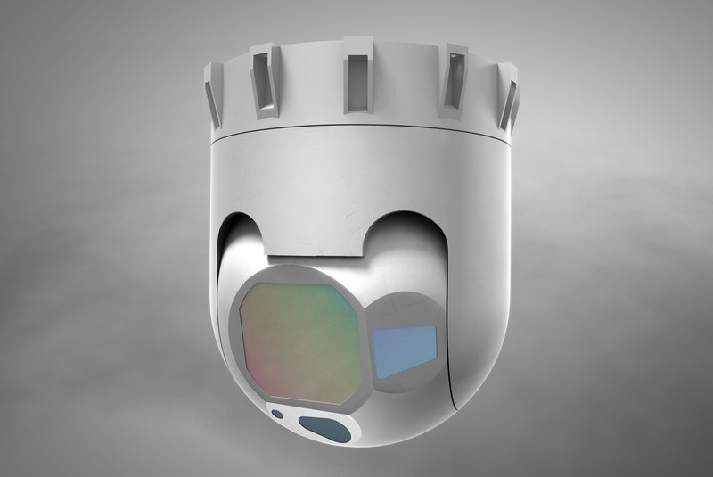 Raytheon Company unveiled a smaller, lightweight version of its Multi-Spectral Targeting System™ at the Paris Air Show today. The Compact MTS, a 12 inch turret weighing less than 60 pounds, is designed for exportability and will deliver best in class electro-optical and infrared sensing performance.