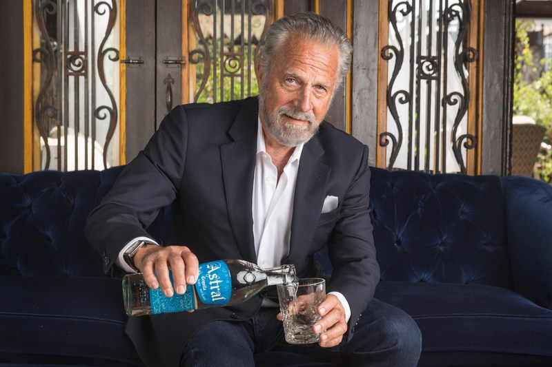 Jonathan Goldsmith drinks Astral Tequila
