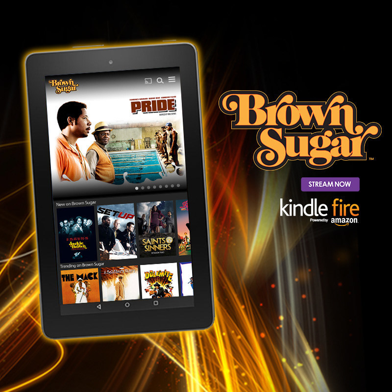 Brown Sugar, the new subscription-video-on-demand service featuring the biggest collection of the baddest African-American movies of all-time, is now available in the Amazon Appstore for Amazon Kindle Fire tablets. Kindle Fire users can now watch Brown Sugar's extensive and one-of-a-kind library of iconic black movies, all un-edited and commercial-free. Brown Sugar features such great movies as The Mack, Super Fly, Jackie Brown, Dolemite, Chicago, Cotton Comes to Harlem, Eve's Bayou, Foxy Brown, Cooley High, Don't Be a Menace to South Central, Pride, A Soldier's Story, Black Caesar, Richard Pryor: Live on the Sunset Strip, Car Wash and more. Visit www.BrownSugar.com.