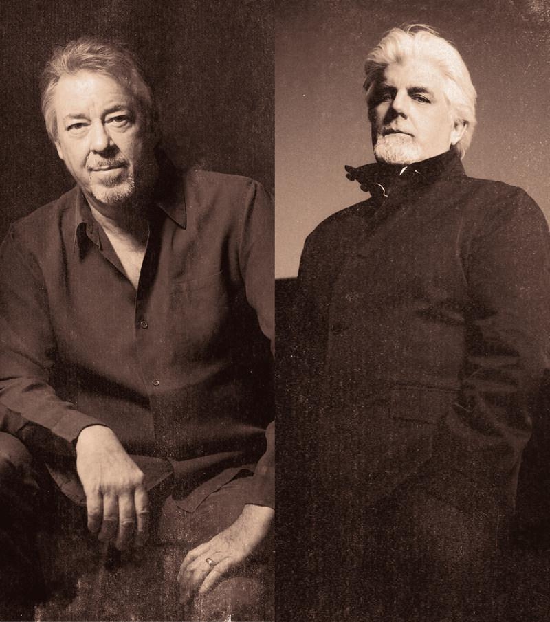 Boz Scaggs and Michael McDonald. Photo credit Maryhill Winery and Bozz Scaggs and Michael McDonald.