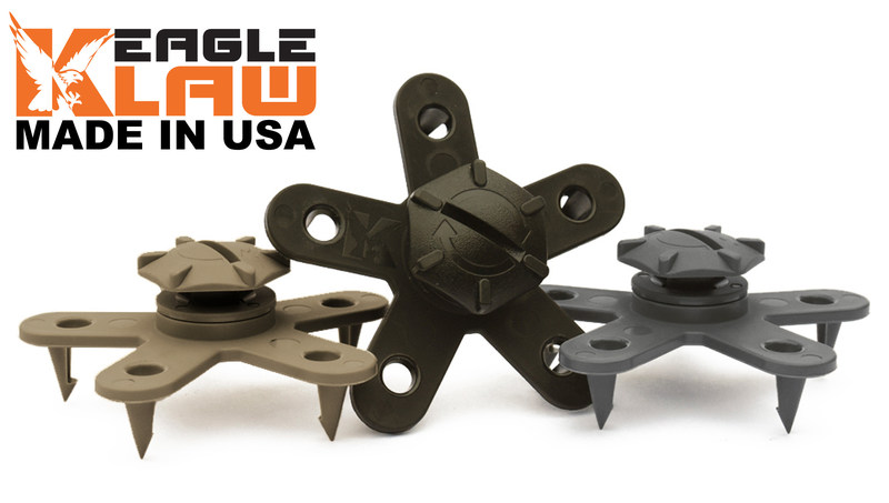 Eagle Klaw floor mat clips can be used with original (OEM), all-weather or aftermarket floor mats such as Weathertech; with or without pre-installed grommets.