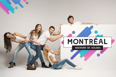 Montréal weekend de soldes au Palais des congrès. (Groupe CNW/Montréal weekend de soldes)