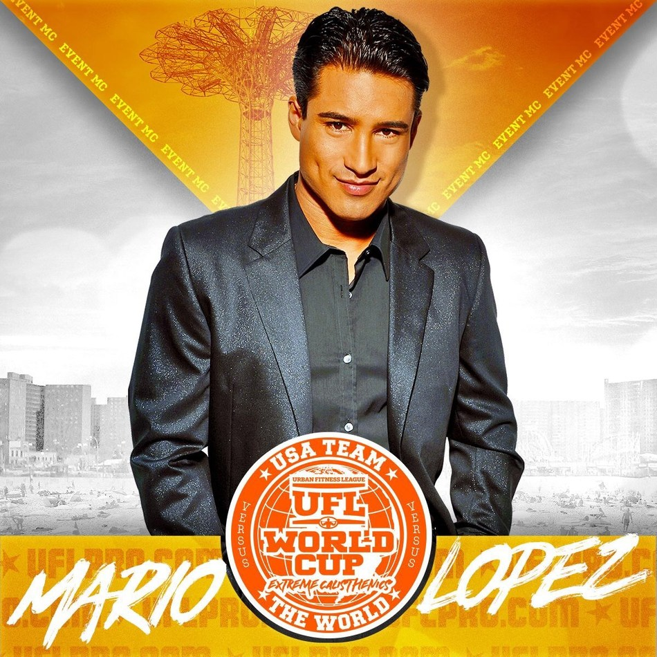 MARIO LOPEZ TO HEADLINE URBAN FITNESS LEAGUE'S JULY 4TH EVENT AT THE AMPHITHEATRE ON THE CONEY ISLAND BOARDWALK