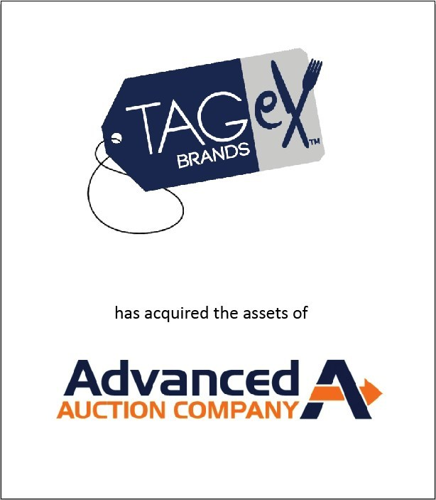 TAGeX Brands acquires Texas-based Advanced Auction Company to drive used restaurant equipment sales