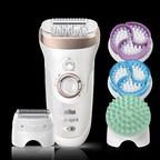 Braun Silk-épil 9 SkinSpa offers three at home beauty treatments in one device (PRNewsfoto/Braun)