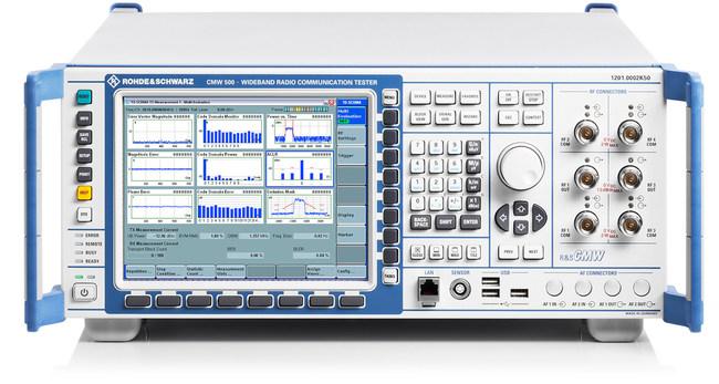 R&S®CMW500 network emulator