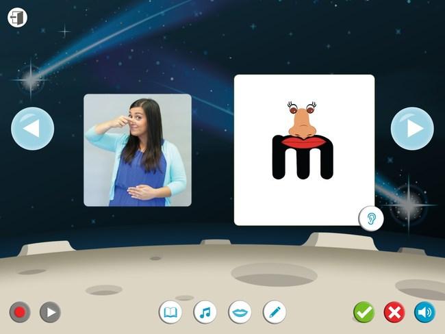 Lively Letters App - Letter Sound Activity