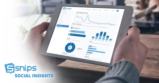 Snips Media launches Social Insights, a new platform for influencers that offers real-time analytics and audience demographics across social media.